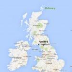 Orkney in UK